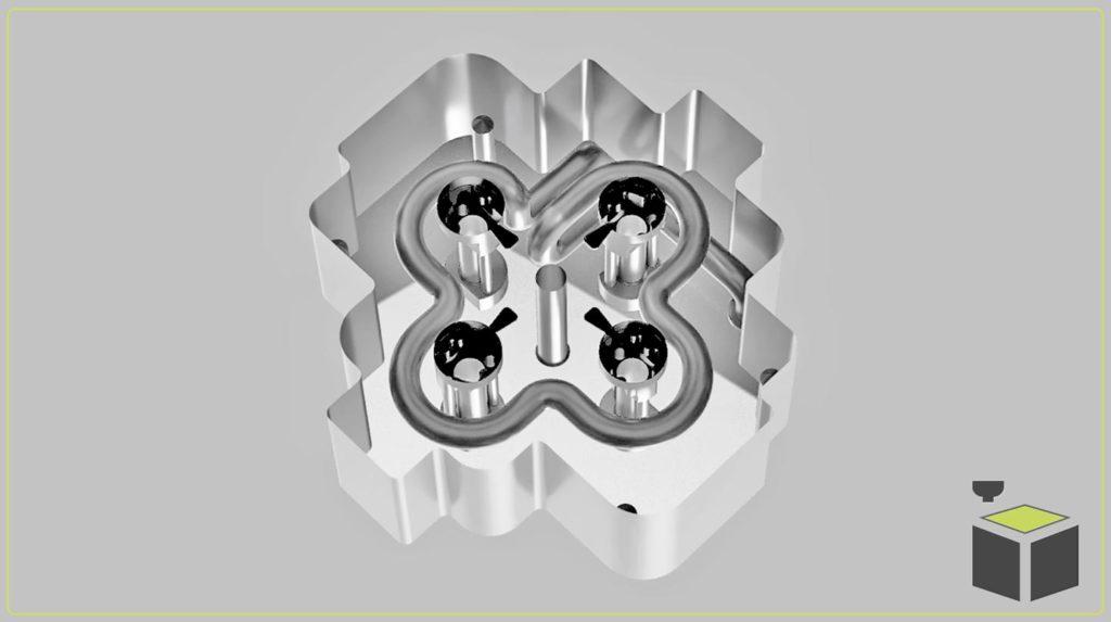 3D tlač vstrekovacích foriem