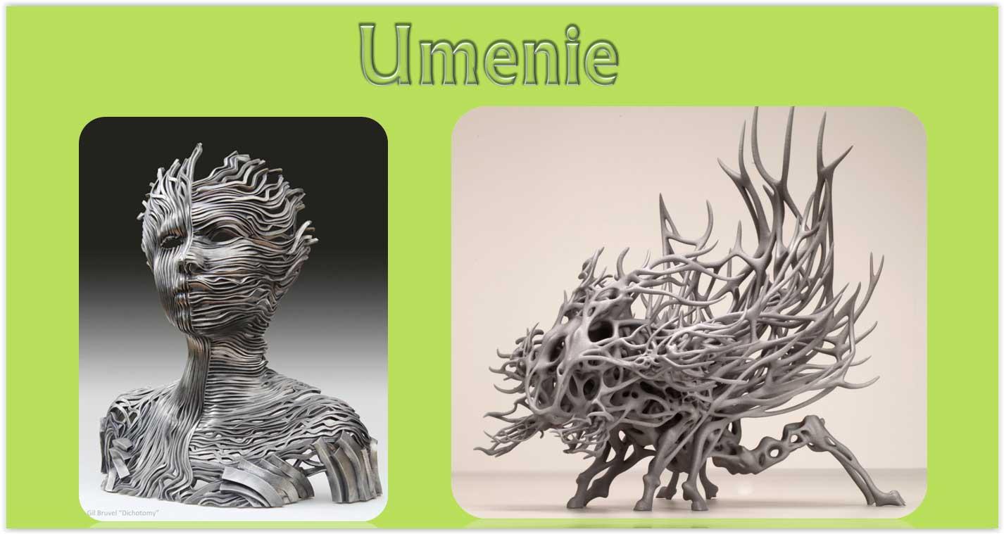 Umenie 3D tlač