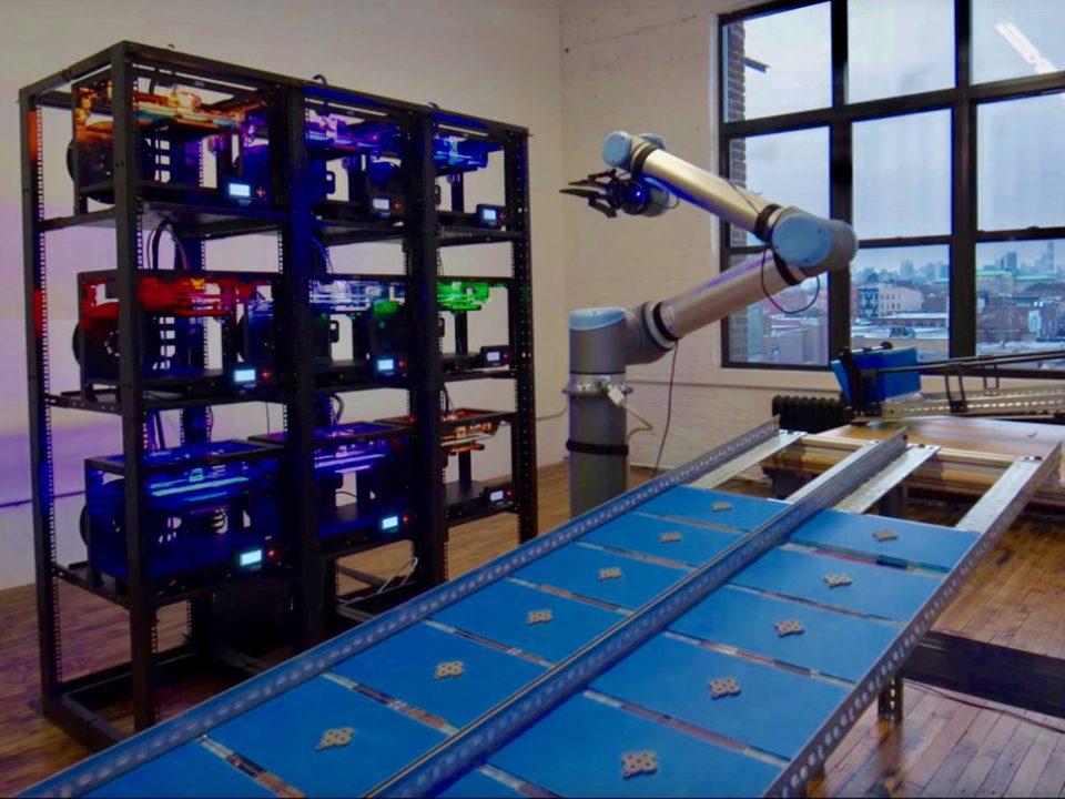 automatizácia 3D tlače