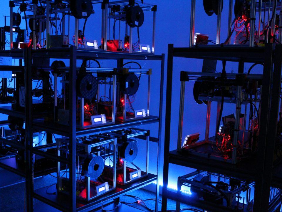 sériová 3D tlač