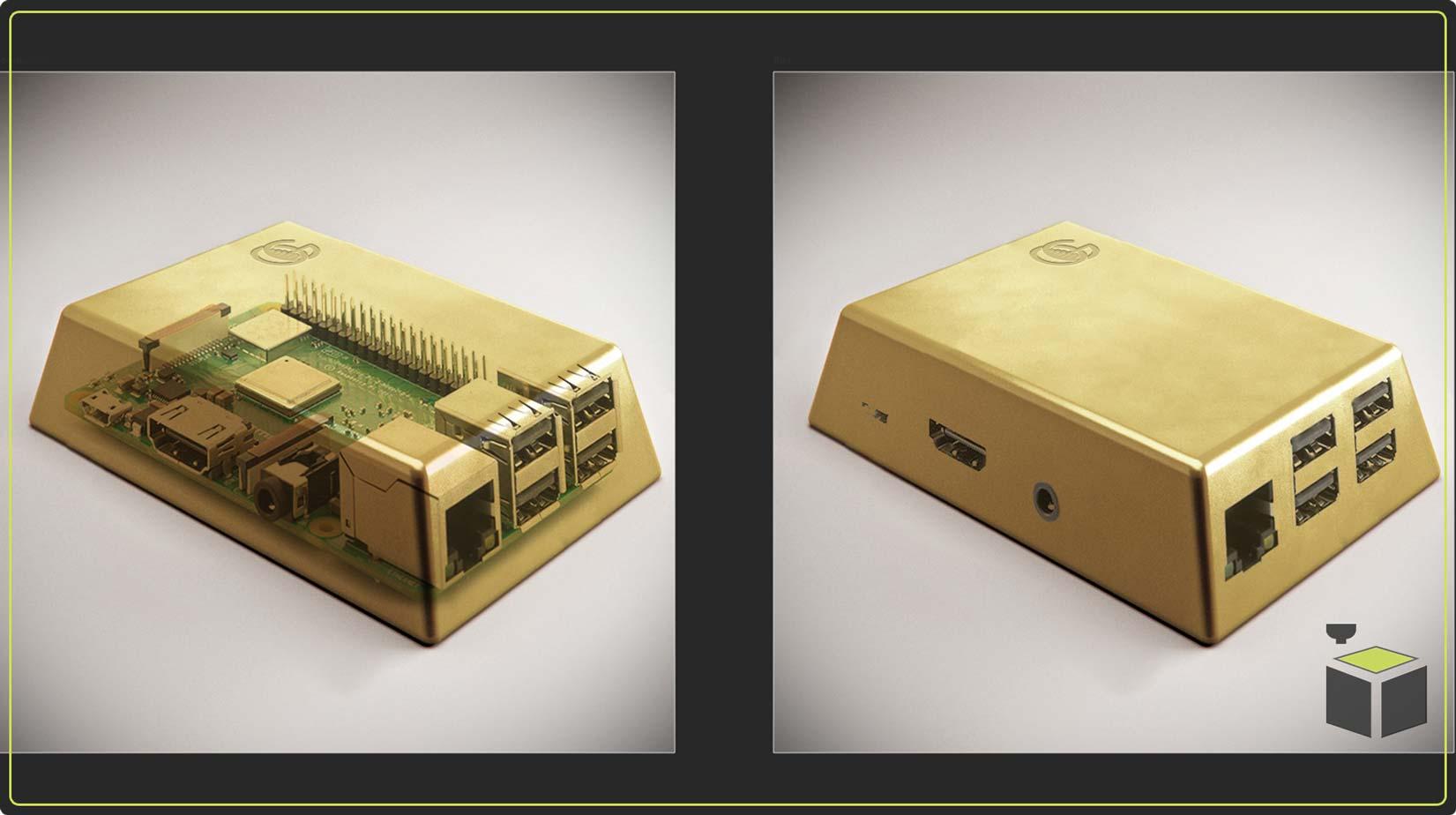 3D tlač púzdier na elektroniku