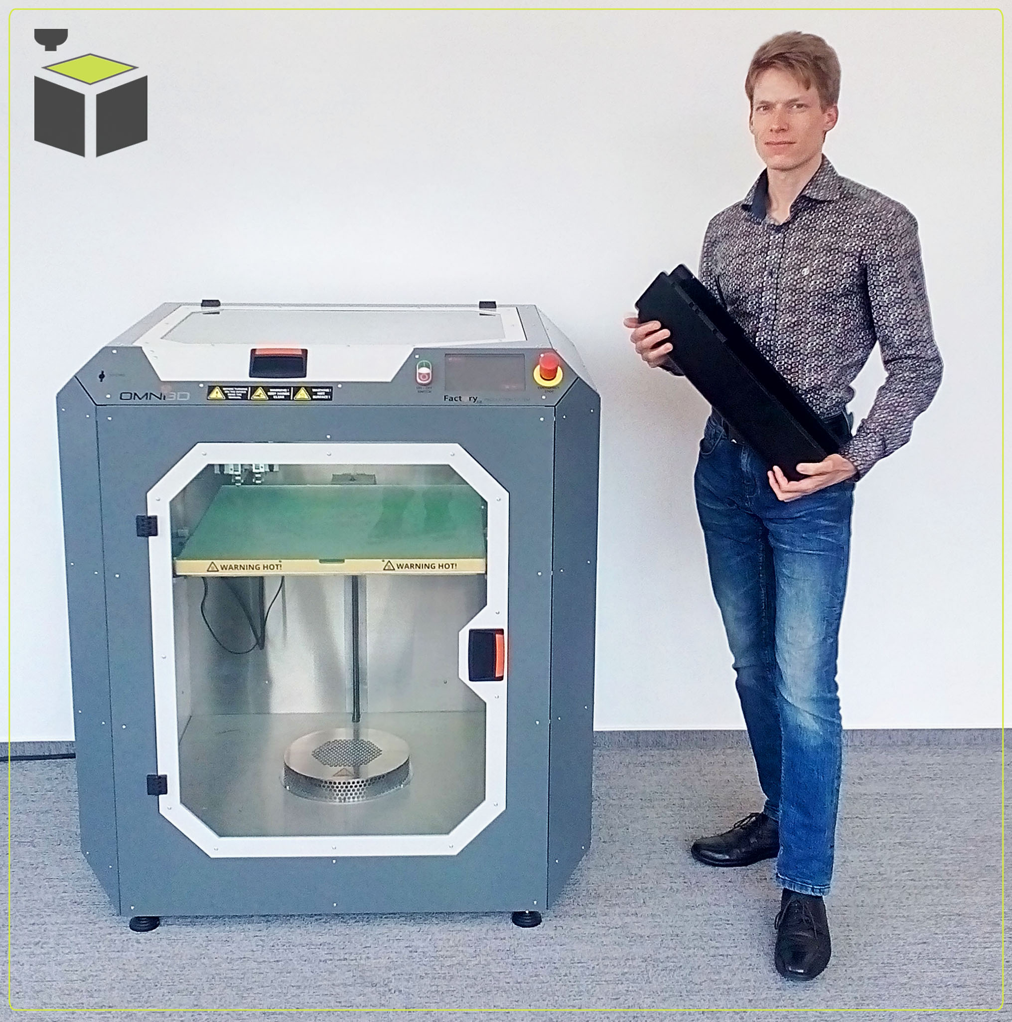 Priemyselná 3D tlačiareň