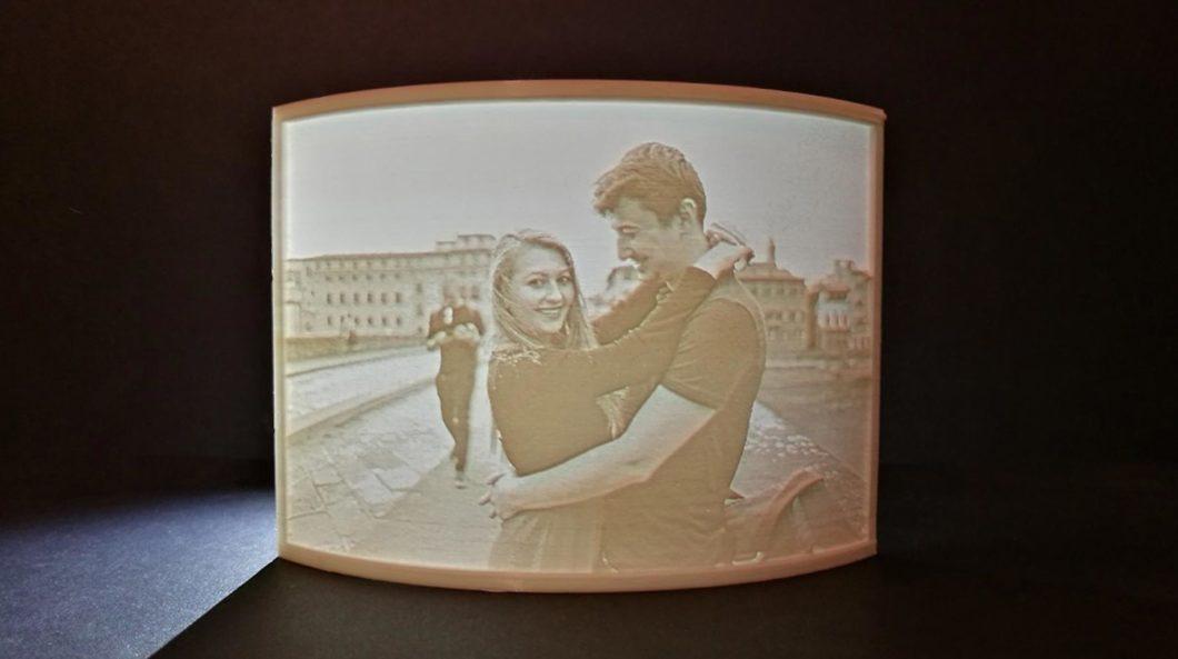 3D tlač fotografie