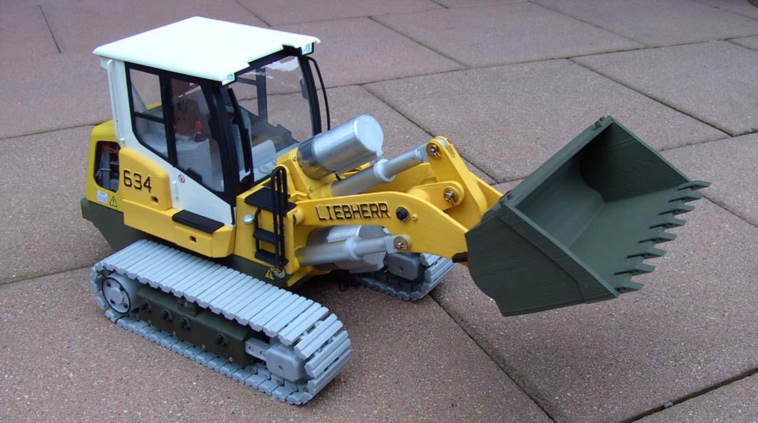 3D tlač nákladných vozidiel