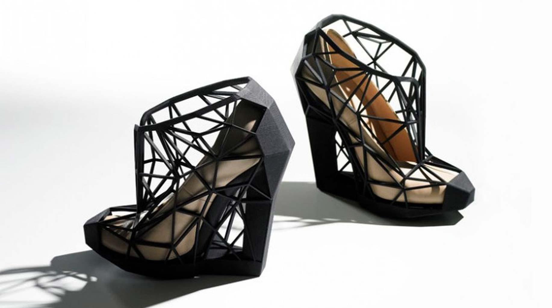 3D tlač topánky