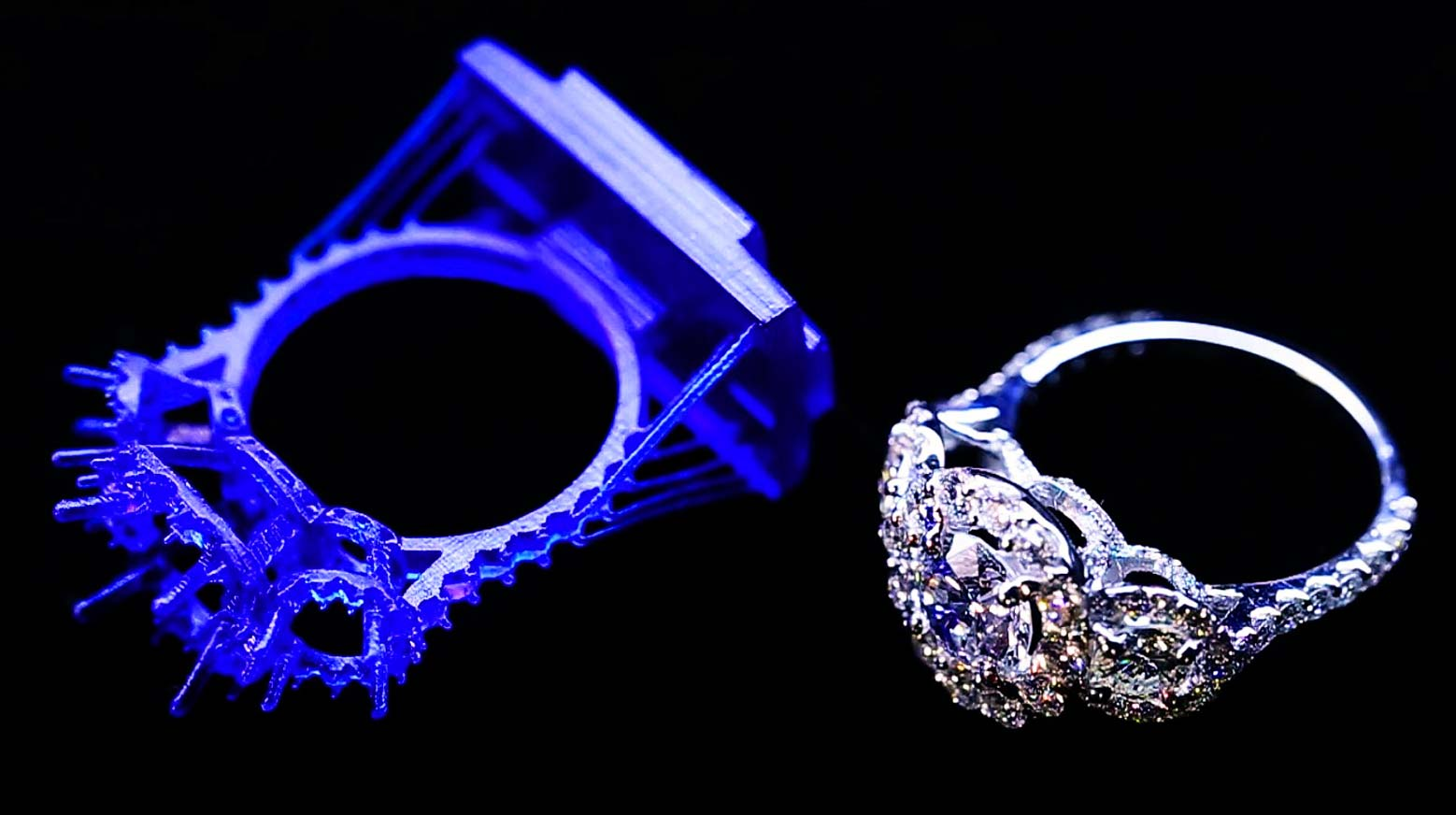 Prstene 3D tlač