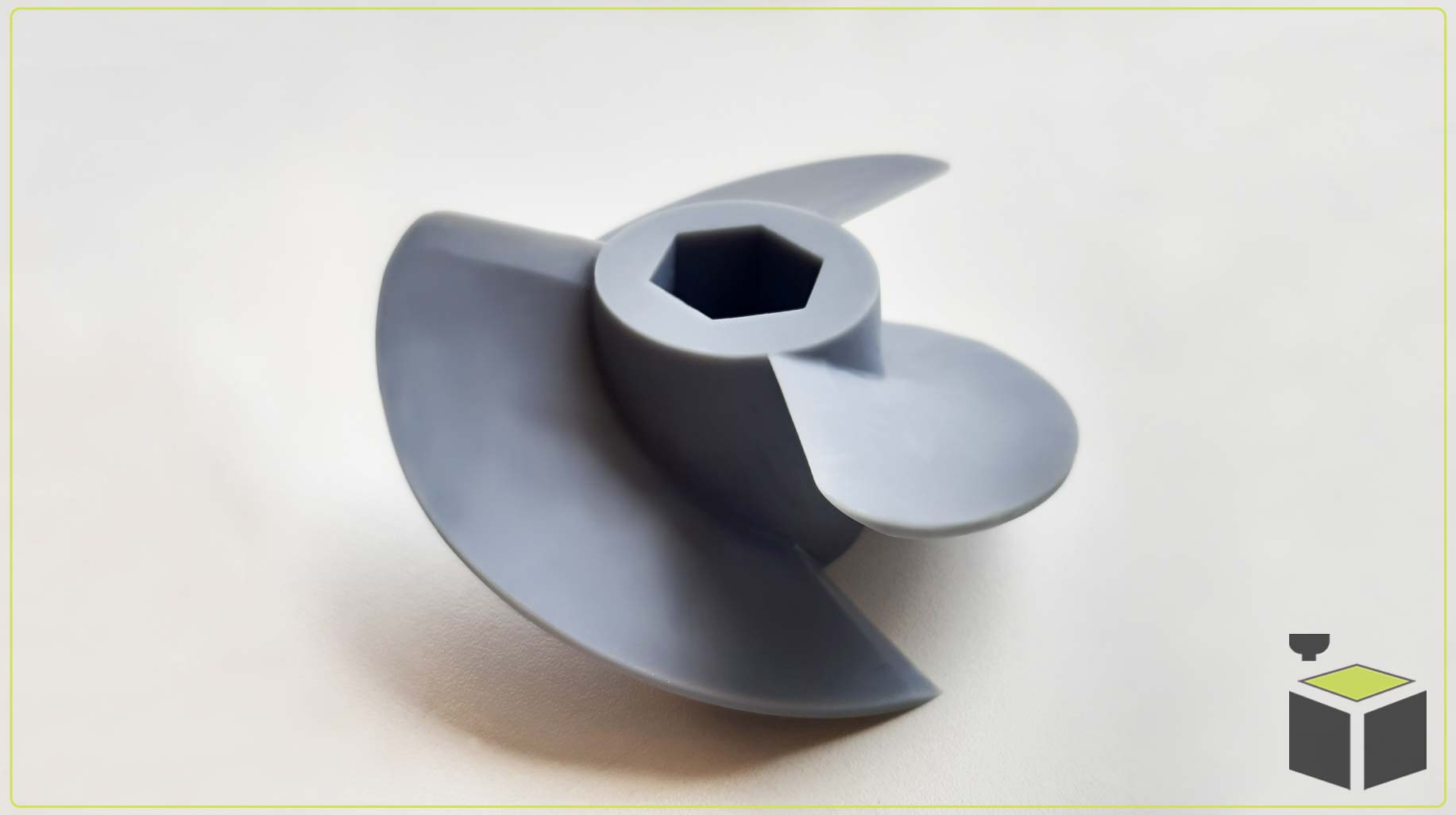 3D tlač turbíny