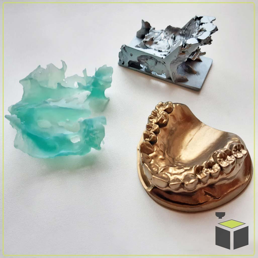 Živicová 3D tlač zubárskych pomôcok