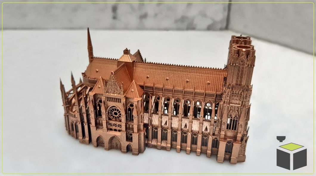 Urbanistické modely 3D tlačou
